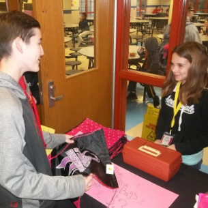 "Middle School's RAMS-Mart ""Pink"" Sales Benefit Komen Foundation"