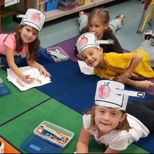 Kindergarten Students Celebrate Johnny Appleseed Day