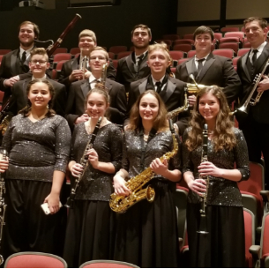 Students Represent HHS at A-K Honors Band