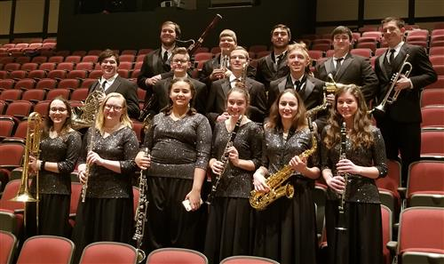 AK Honors Band Students HHS