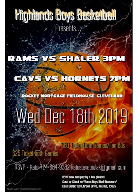 Boys BB Game Poster