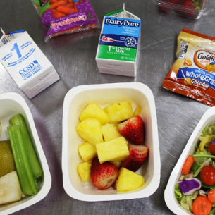 SIGN UP HERE for the School Meals Distribution