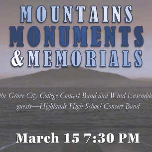 Highlands Invited to Perform at Grove City College Concert on Mar. 15