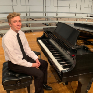 Student Accompanist Performs at District 1 Choir Festival, Advances to Regional