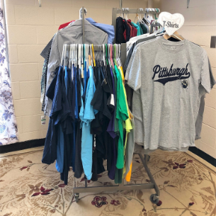 New! RAMS DEN Clothing Closet Available to High School Students