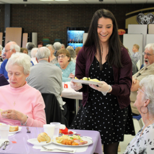 District Hosts Annual Gold Card Easter Luncheon