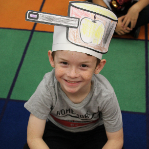 Kindergarteners Celebrate Johnny Appleseed Day