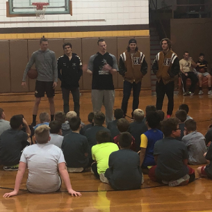 "Varsity Players Inspire ""Beast Mode"" Gr. 3-6 Basketball Boys"