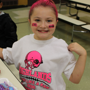 Highlands Celebrates Pink Out Day in Honor of Breast Cancer Awareness Month