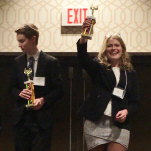 Highlands DECA Students Place at Regionals