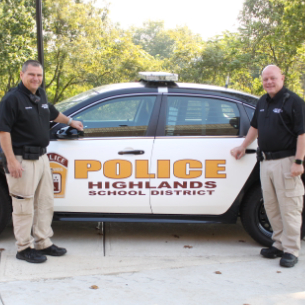Highlands Welcomes Two Police Officers to District