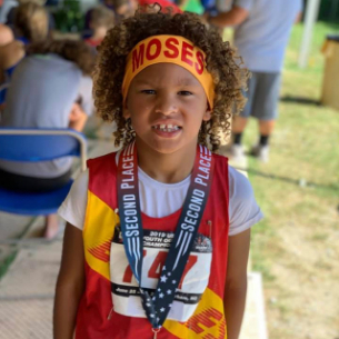 Elementary Student Places 2nd in Track & Field Nationals