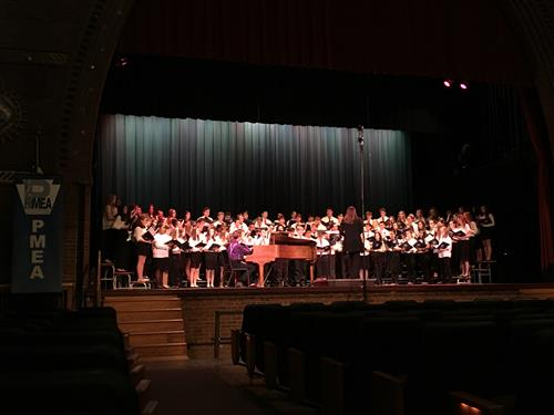 pmea honors choir