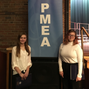 8th Graders Represent Middle School at PMEA District Chorus