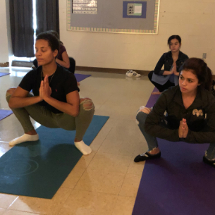 High School's New Yoga Course in High Demand