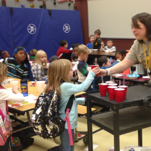 "Kindergarten Makes ""Friendship Soup"""