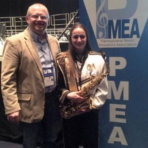 Senior AFS Student Represents Highlands at PMEA All-State Festival