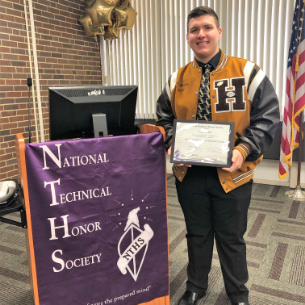 Forbes Student Inducted into NTHS