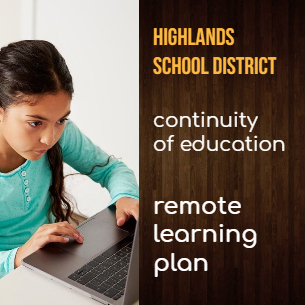 Highlands Begins Remote Learning Week of March 30