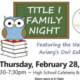 Join Us for Family Reading Night on Feb. 28!