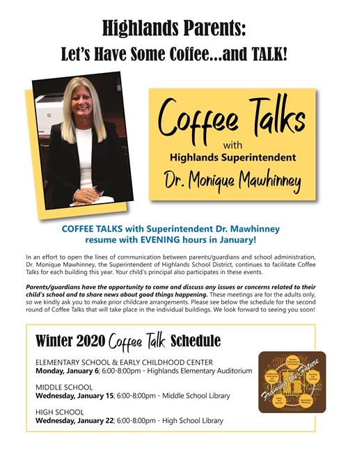Coffee Talk Flyer