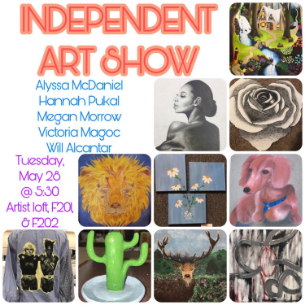 High School Students Present Independent Art Show May 28