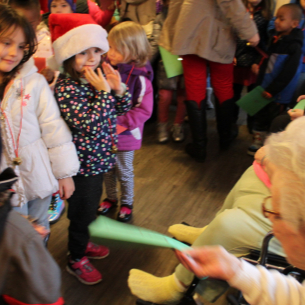 Pre-K Spreads Holiday Cheer