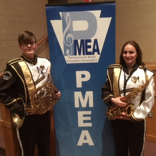 HHS Students Perform in PMEA Region Band