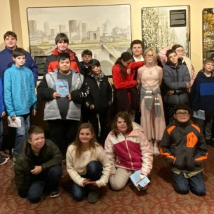 "Students Attend ""A Musical Christmas Carol"""
