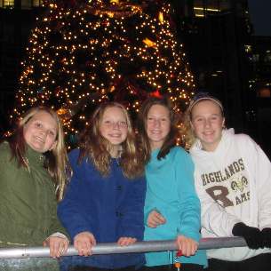PHOTO GALLERY: Middle School Ice Skating at PPG Place