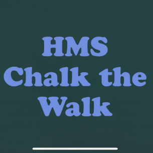 HMS Chalk the Walk Honors Essential Workers