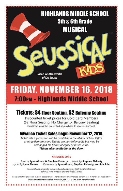seussical kids poster