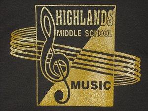 HMS Music T-shirt