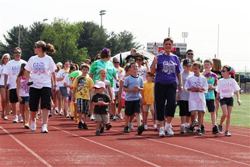 2011 Relay leader Ms Stanzione