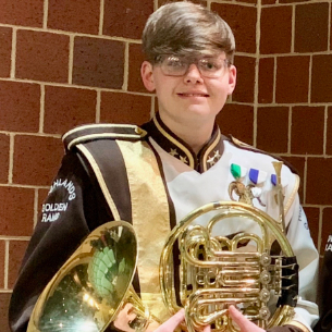 HHS Junior Musician Advances to PMEA All-State Wind Ensemble