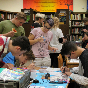 "HHS Partners with Community Library to Offer ""Beyond the Book"" Club"