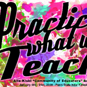 "Highlands Art Teacher Displays Artwork at ""Practice What We Teach"" Exhibit at PSNK"